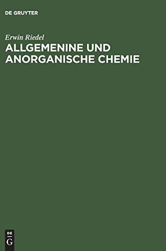 9783110125863: Allgemeine Und Anorganische Chemie: Ein Lehrbuch Fur Studenten Mit Nebenfach Chemie 5., Bearbeitete Auflage