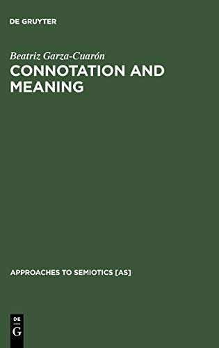 9783110126709: Connotation & Meaning
