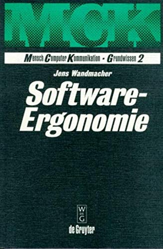 Software - Ergonomie.: Wandmacher, Jens