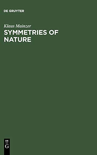 9783110129908: Symmetries of Nature: A Handbook for Philosophy of Nature and Science