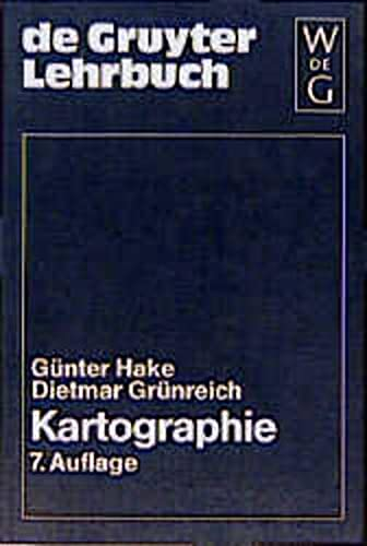 9783110133974: Kartographie (de Gruyter Lehrbuch)