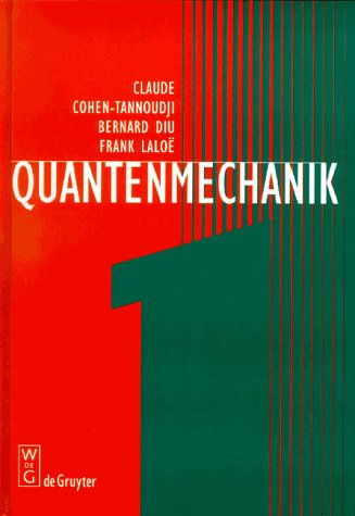 9783110135923: Quantenmechanik: 1