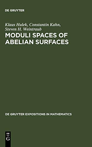 9783110138511: Moduli Spaces of Abelian Surfaces: Compactification, Degenerations and Theta Functions (De Gruyter Expositions in Mathematics)
