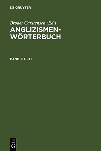 9783110142358: F - O (German Edition)