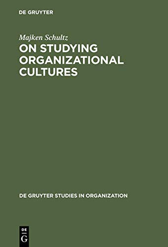 9783110146493: On Studying Organizational Cultures: Diagnosis and Understanding (History of Religions in Translation)