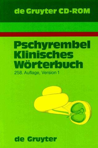 Pschyrembel Klinisches Wörterbuch. CD- ROM Version 1/97 für Windows 3.1/3.11&#...