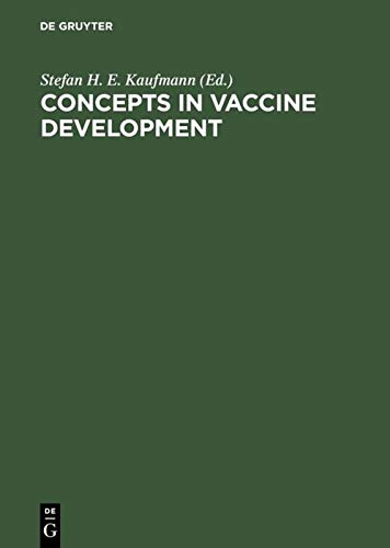 9783110148152: Concepts in Vaccine Development