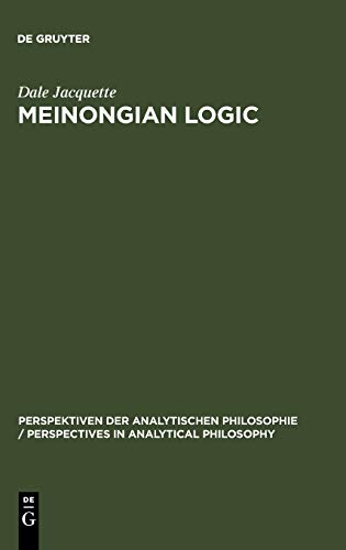 9783110148657: Meinongian Logic (Studia Linguistica Germanica)