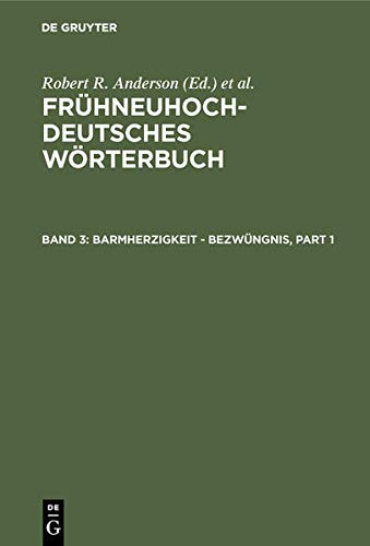 9783110148879: Barmherzigkeit - Bezwungnis (German Edition)