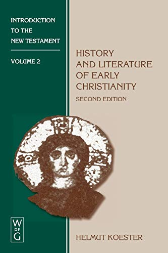 9783110149708: Introduction to the New Testament, Vol. 2: History and Literature of Early Christianity