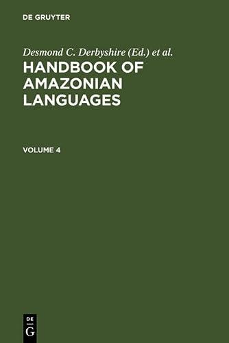 9783110149913: Handbook of Amazonian Languages