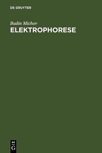 9783110149944: Elektrophorese (German Edition)