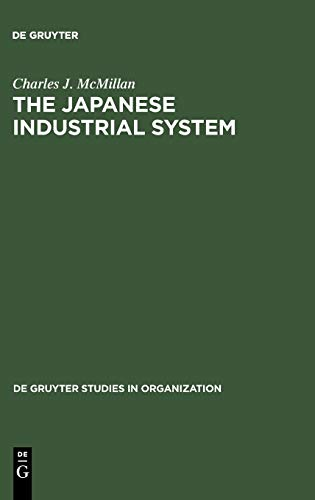 9783110150865: The Japanese Industrial System (De Gruyter Studies in Organization, 3rd Edition)