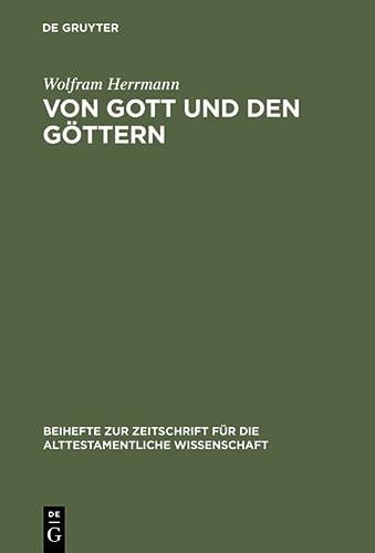 Von Gott und den Göttern: Wolfram Herrmann