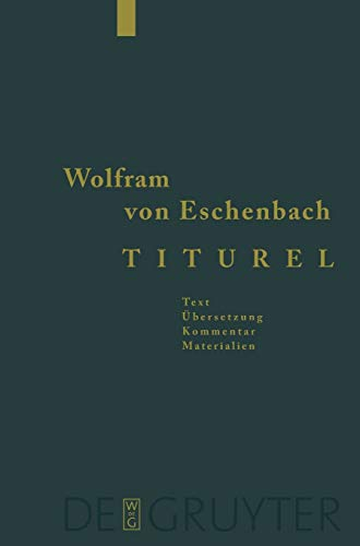 9783110151220: Titurel (German Edition)