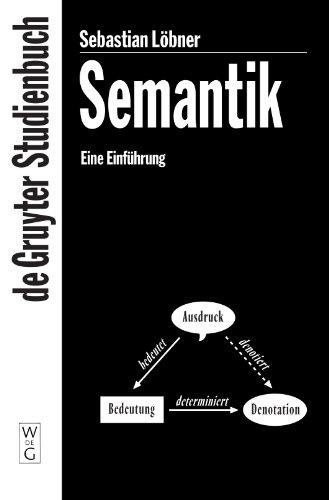 9783110156744: Semantik (de Gruyter Studienbuch) (German Edition)