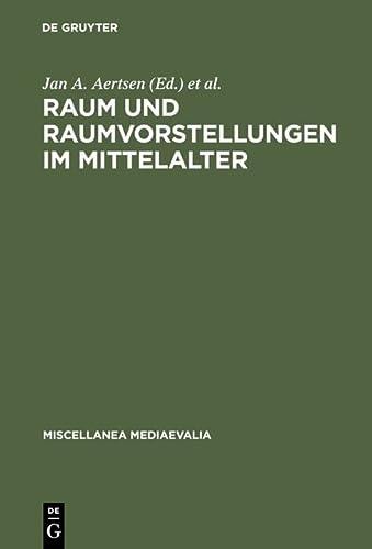 9783110157161: Raum Und Raumvorstellungen Im Mittelalter (Miscellanea Mediaevalia.)