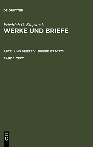 Text: Friedrich Gottlieb Klopstock