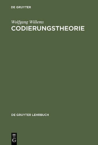 9783110158731: Codierungstheorie (German Edition)