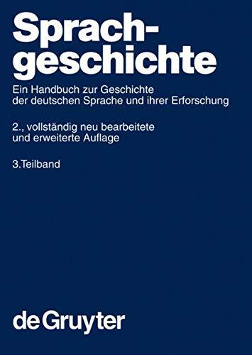 Sprachgeschichte 3: Werner Besch
