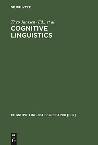 Cognitive Linguistics: Foundations, Scope, and Methodology (Cognitive