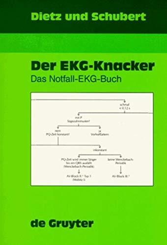 9783110161779: Der Notfall-Ekg-Buch