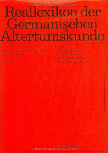 Reallexikon Der Germanischen Altertumskunde: Getranke, Greutungen: Vol: Beck, Heinrich (Editor)/