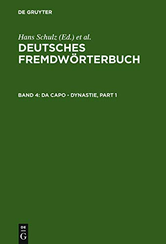 9783110162356: Da Capo - Dynastie (Empircal approaches to language typology / EUROTYP)