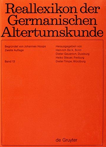 Reallexikon Der Germanischen Altertumskunde: Johannes Hoops, Heinrich