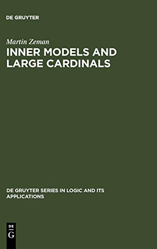 9783110163681: Inner Models and Large Cardinals (Travaux de la Faculte de Theologie Protestante de Strasbourg)