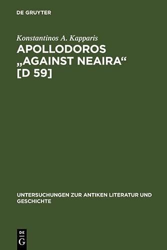 9783110163902: Apollodoros
