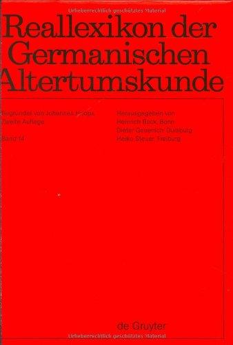 9783110164237: Reallexikon Der Germanischen Altertumskunde (German Edition)