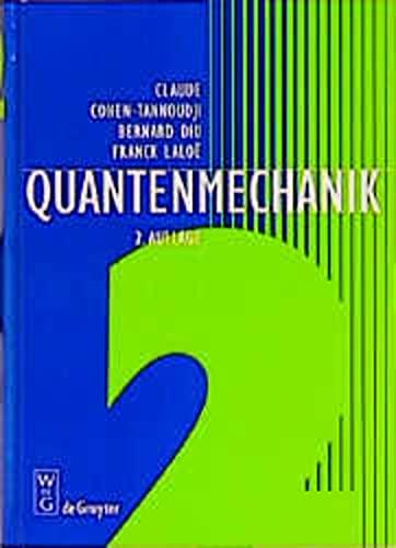 9783110164596: Quantenmechanik: Teil 2 : 2 Durchgesehene Und Verbesserte Auflage (German Edition)