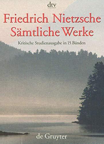 9783110165999: Friedrich Nietzsche - Samtliche Werke: Kritische Studienausgabe in 15 Banden