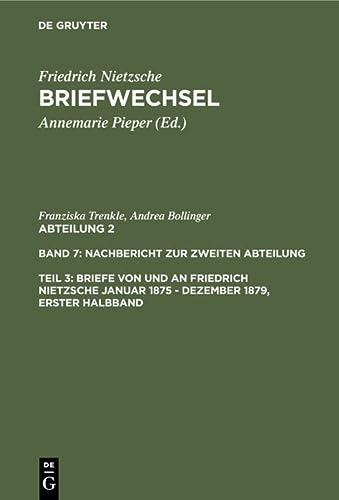 9783110168013: Nietzsche/Briefwechsel: Kritische Gesamtausgabe