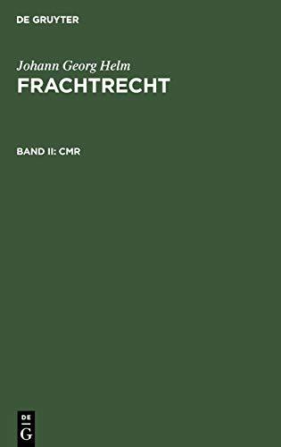 9783110168037: CMR (German Edition)