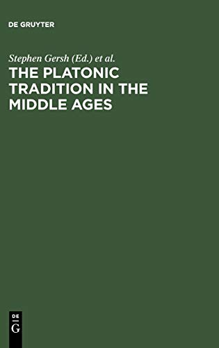 9783110168440: The Platonic Tradition in the Middle Ages: A Doxographic Approach
