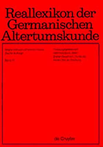 9783110169072: Reallexikon Der Germanischen Altertumskunde: Band 17 (German Edition)