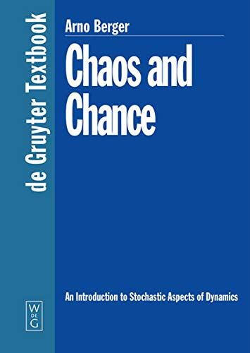 9783110169911: Chaos and Chance: An Introduction to Stochastic Aspects of Dynamics