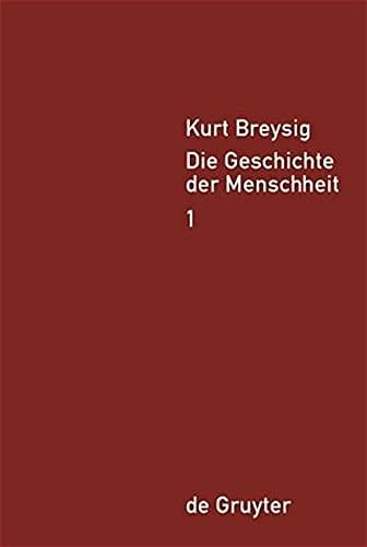 Die Geschichte der Menschheit (Set) 5 Bände in 4: Breysig, Kurt