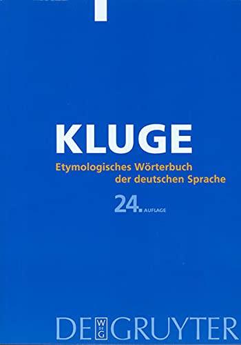 9783110174731: Kluge: Etymologisches Worterbuch Der Deutschen Sprache