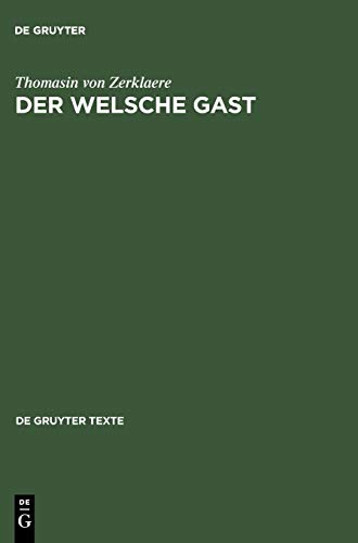 9783110175431: Der Welsche Gast (De Gruyter Texte)