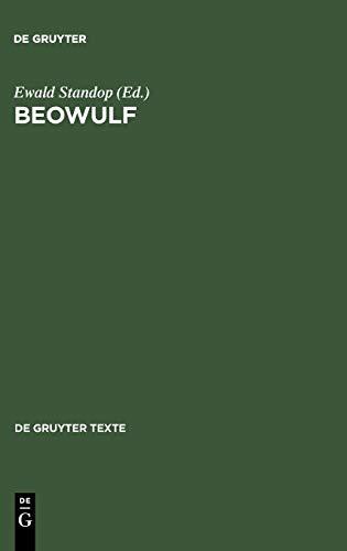 9783110176087: Beowulf: Eine Textauswahl mit Einleitung, Übersetzung, Kommentar und Glossar: Text, Ubersetzung, Kommentar (De Gruyter Texte)