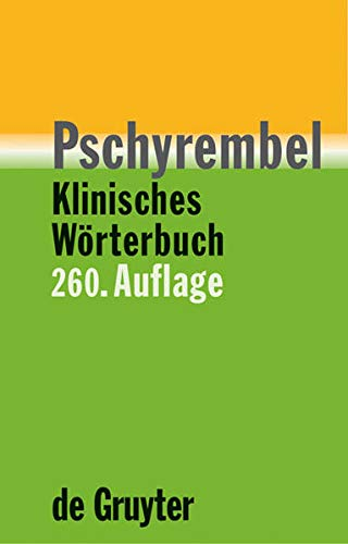 9783110176216: Pschyrembel[registered] Klinisches Worterbuch
