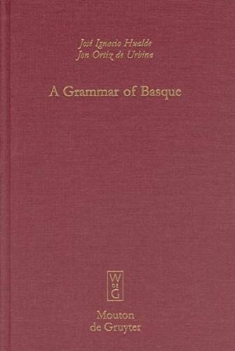9783110176834: A Grammar of Basque (Mouton Grammar Library) (English and German Edition)