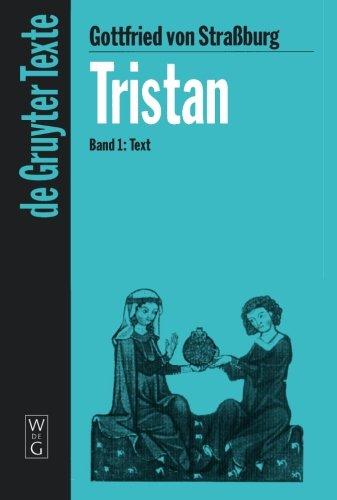9783110176964: Tristan 1. Text: Text v. 1 (De Gruyter Texte)
