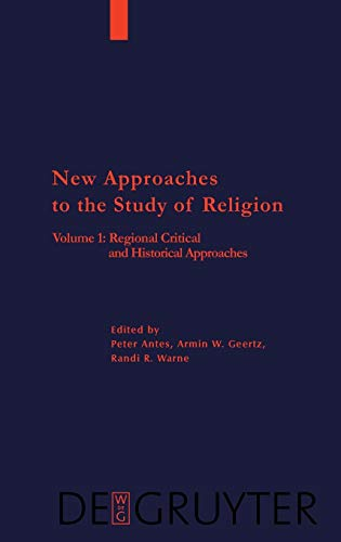 9783110176988: 1: Regional, Critical, and Historical Approaches (Religion & Reason)