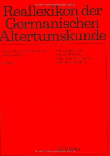 Reallexikon Der Germanischen Altertumskunde (v. 26) (German: Johannes Hoops, Heinrich