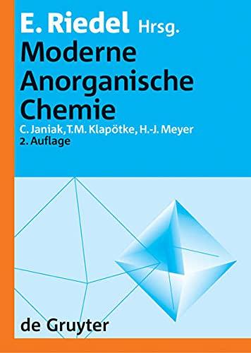 9783110178388: Moderne Anorganische Chemie