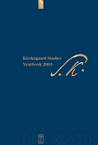 9783110178951: Kierkegaard Studies: Yearbook 2003 (German Edition)